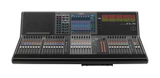 The Yamaha CL5 Digital Mixing Console at Hollywood Sound Systems