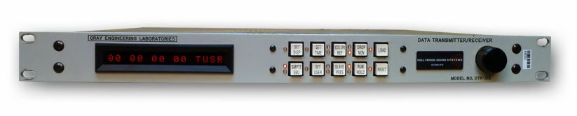 The Gray Engineering DTR-313 Time Code Transmitter/Receiver is available at Hollywood Sound Systems.