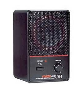 The Fostex 6301B Personal Monitor Self-Powered Speaker is at Hollywood Sound Systems.