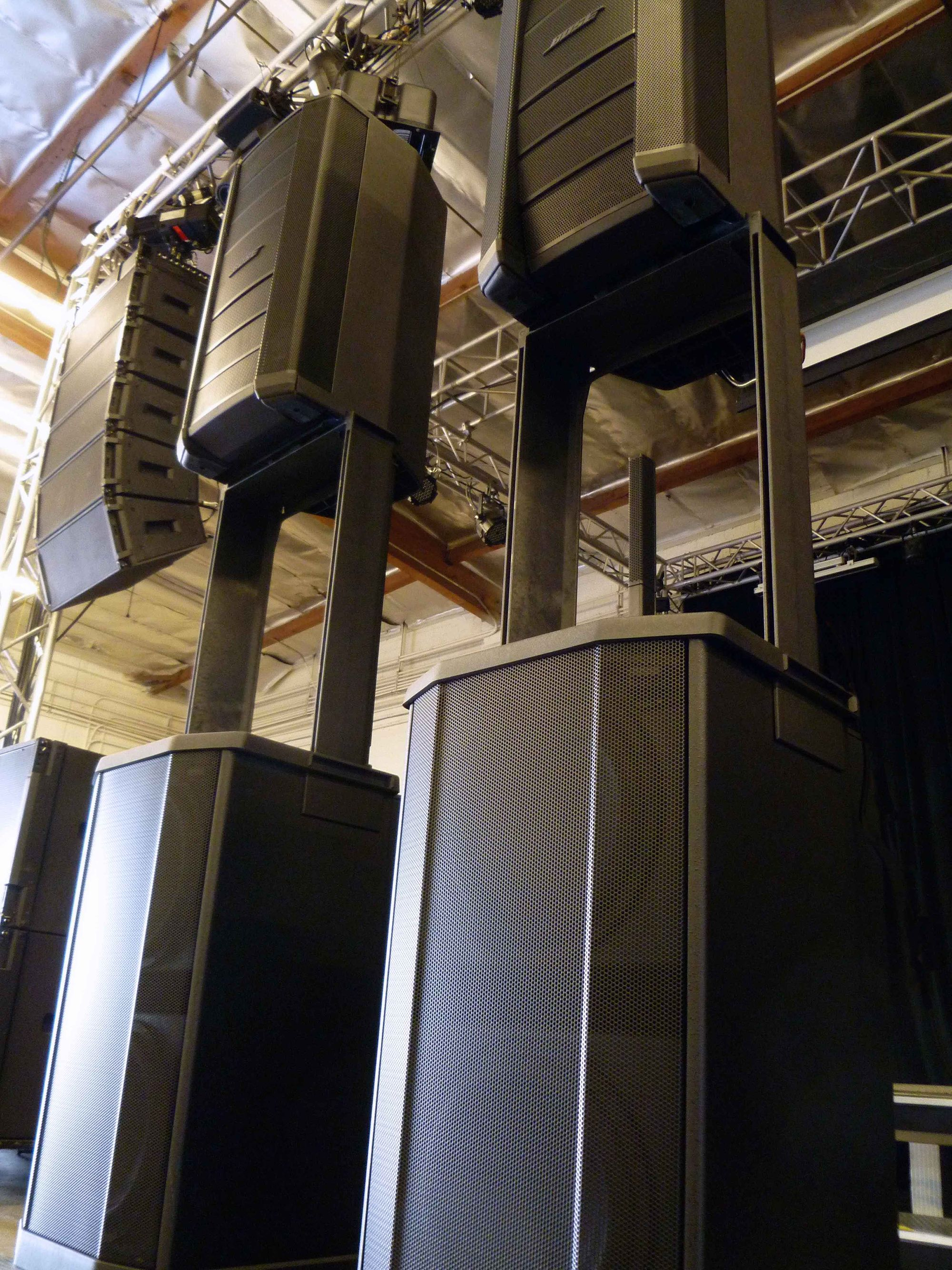 Bose F1 Flexible Array Loudspeaker System at Hollywood Sound Systems