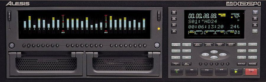Alesis HD24 Recorder is at Hollywood Sound Systems.