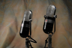 RCA 77-B  & 77-B1  uni-directional ribbon microphones.JPG
