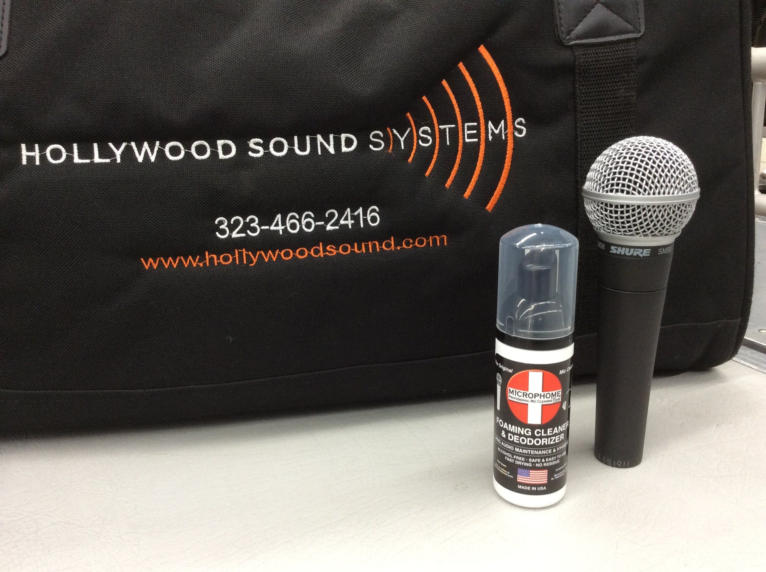 Microphome is at Hollywood Sound Systems now!
