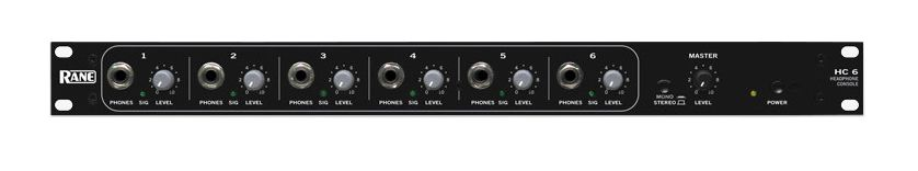 RANE HC-6 Headphone Amplifier at Hollywood Sound Systems