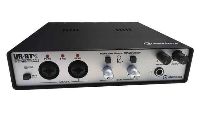 The Steinberg UR-RT2 USB Audio Interface is available at Hollywood Sound Systems.