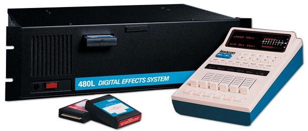 Lexicon 480L Digital Effects System is at Hollywood Sound Systems