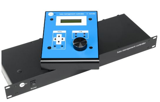 The Blue Sky BMC 5.1 bass management controller at Hollywood Sound Systems