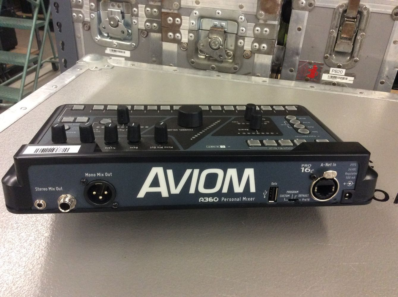 Aviom A360 at Hollywood Sound Systems.