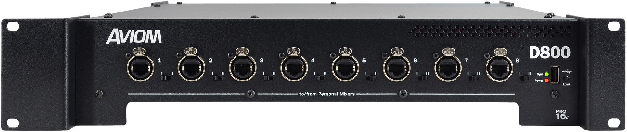 Aviom D800-Dante A-Net Distributor is at Hollywood Sound Systems