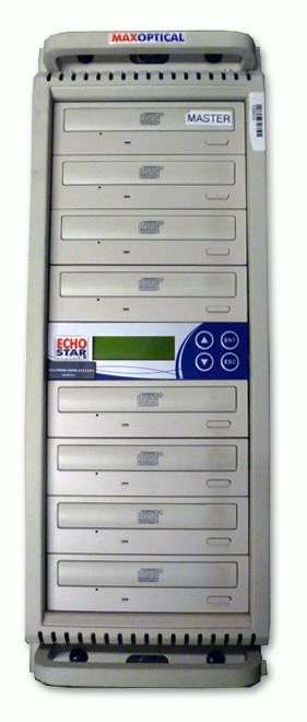 Max Optical CD8PO 7-Bay Duplicator at Hollywood Sound Systems.jpg