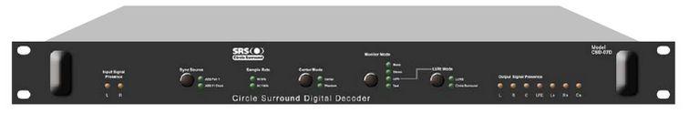 SRS LABS CSE-07D CIRCLE SURROUND DIGITAL ENCODER at Hollywood Sound Systems