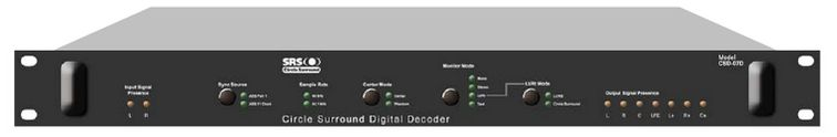 SRS LABS CSE-07D CIRCLE SURROUND DIGITAL ENCODER at Hollywood Sound Systems