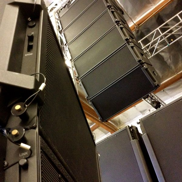 The Bose ShowMatch System at Hollywood Sound Systems