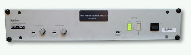 RTS PS-60 Power Supply at Hollywood Sound System
