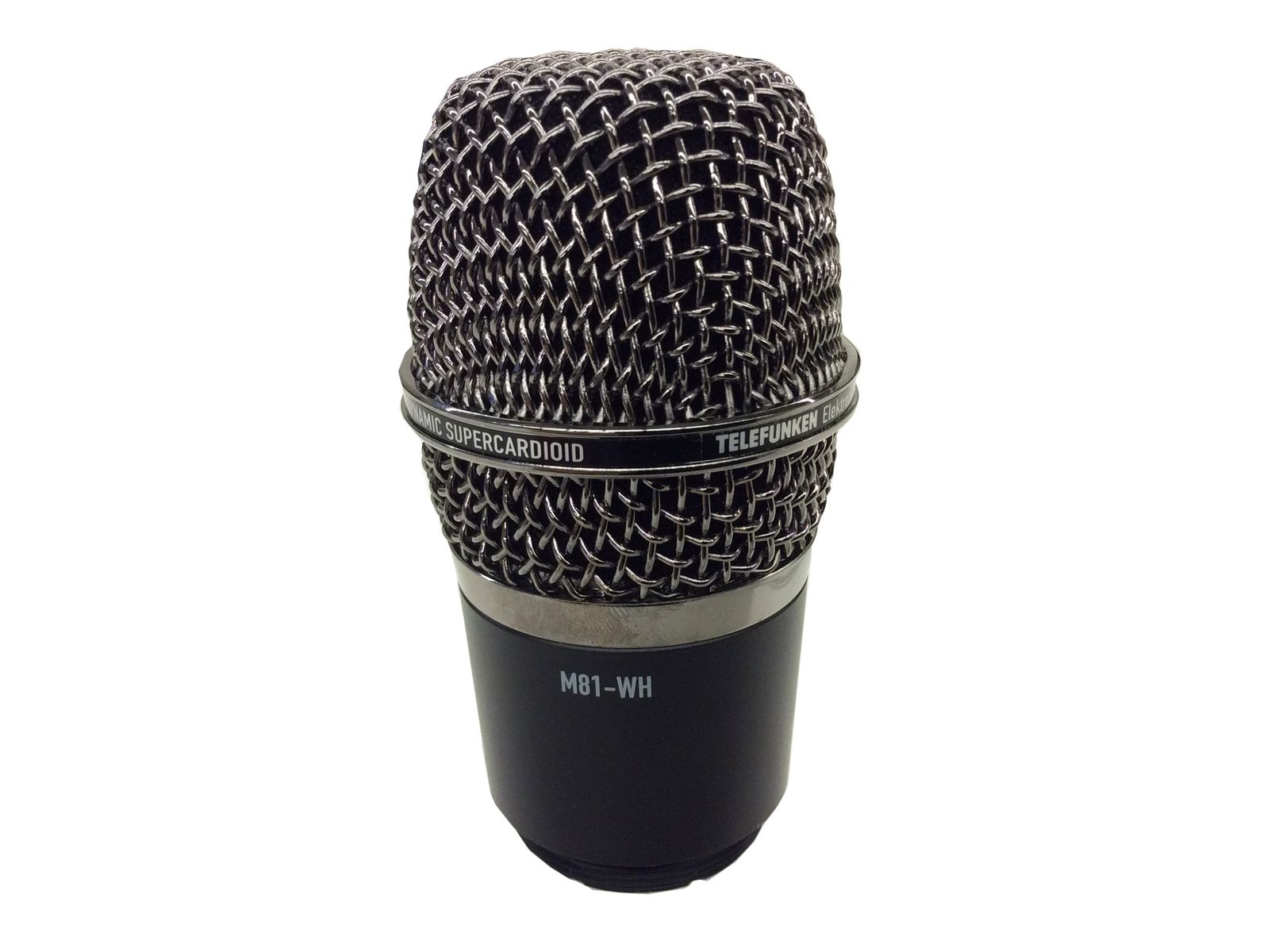 Telefunken M81-WH Wireless Capsule Head is available at Hollywood Sound Systems