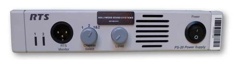 RTS PS-20 Power Supply at Hollywood Sound Systems