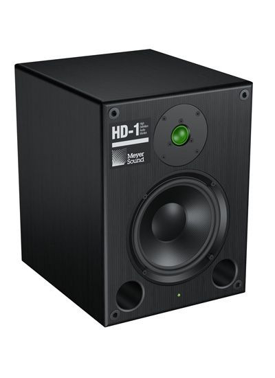 The Meyer Sound HD-1 High Definition Audio Monitor is at Hollywood Sound Systems.