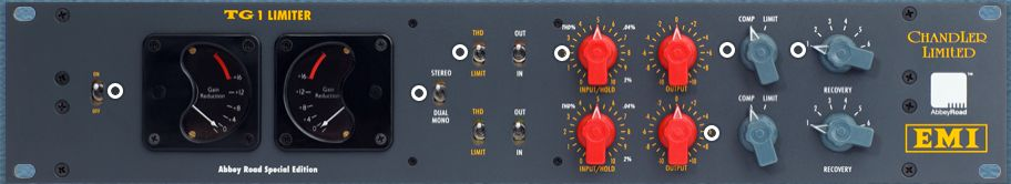 The Chandler Limited TG1 Limiter is available at Hollywood Sound Systems.