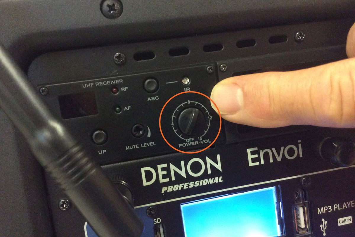Denon Envoi Quick Start Guide Step 2
