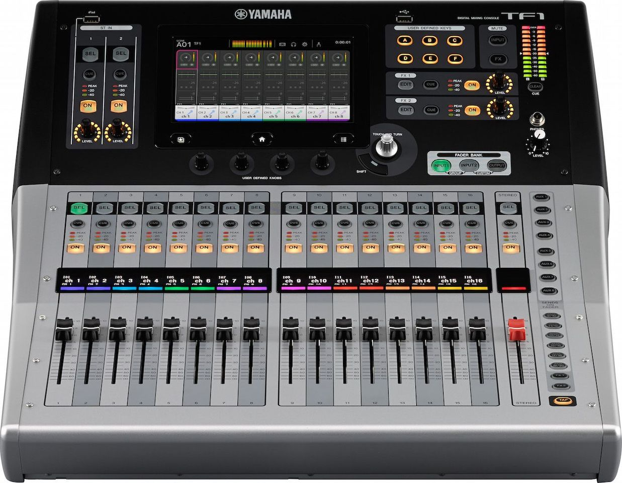 The Yamaha TF1 Digital Mixing Console at Hollywood Sound Systems
