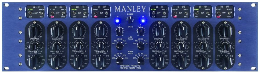 Manley Massive Passive Stereo Equalizer at Hollywood Sound Systems
