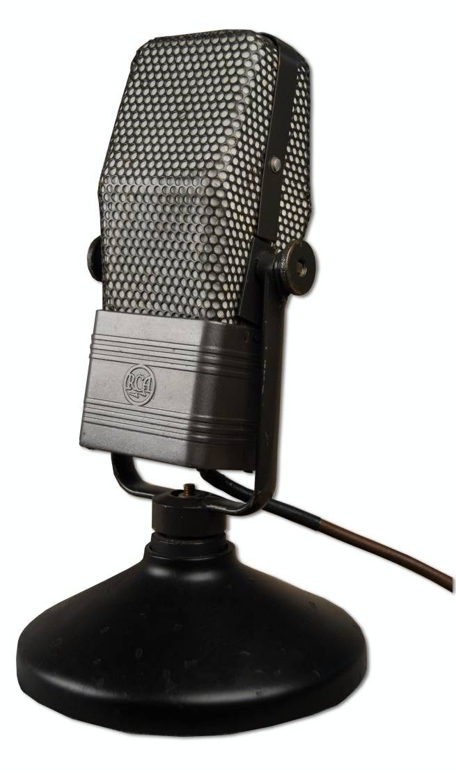 RCA 44-B Velocity Ribbon Microphone at Hollywood Sound Systems