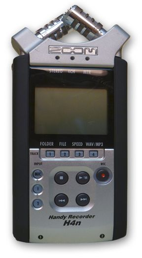 Zoom H4n Portable Handheld Recorder is at Hollywood Sound Systems