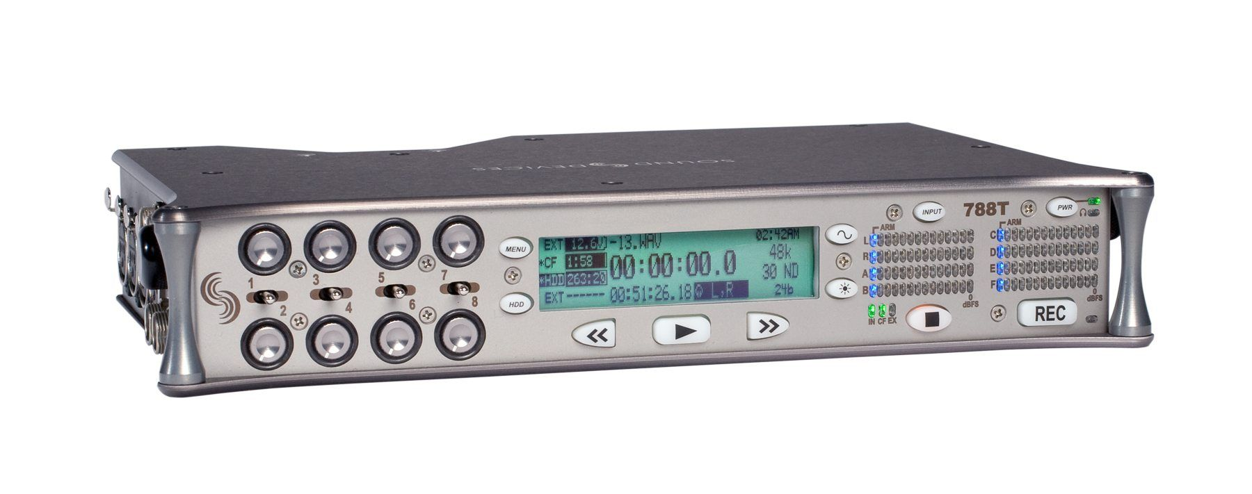 Sound Devices 788T Digital Audio Recorder at Hollywood Sound Systems