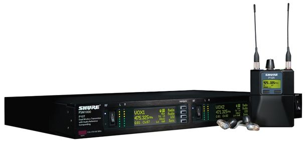 Shure PSM 1000 Personal Monitor System at Hollywood Sound Systems