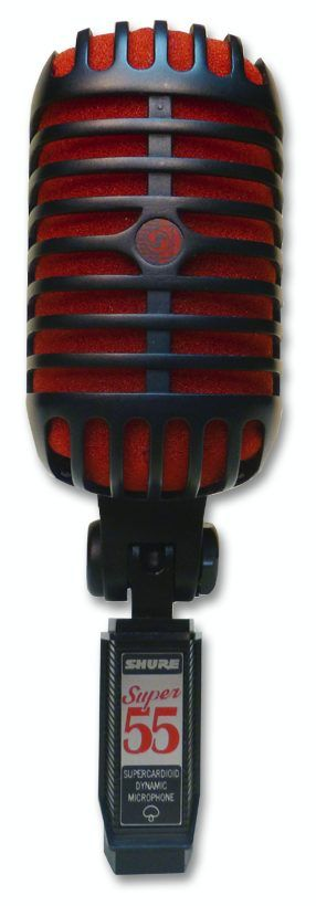Shure Super 55-BCR Deluxe Vocal Microphone at Hollywood Sound Systems