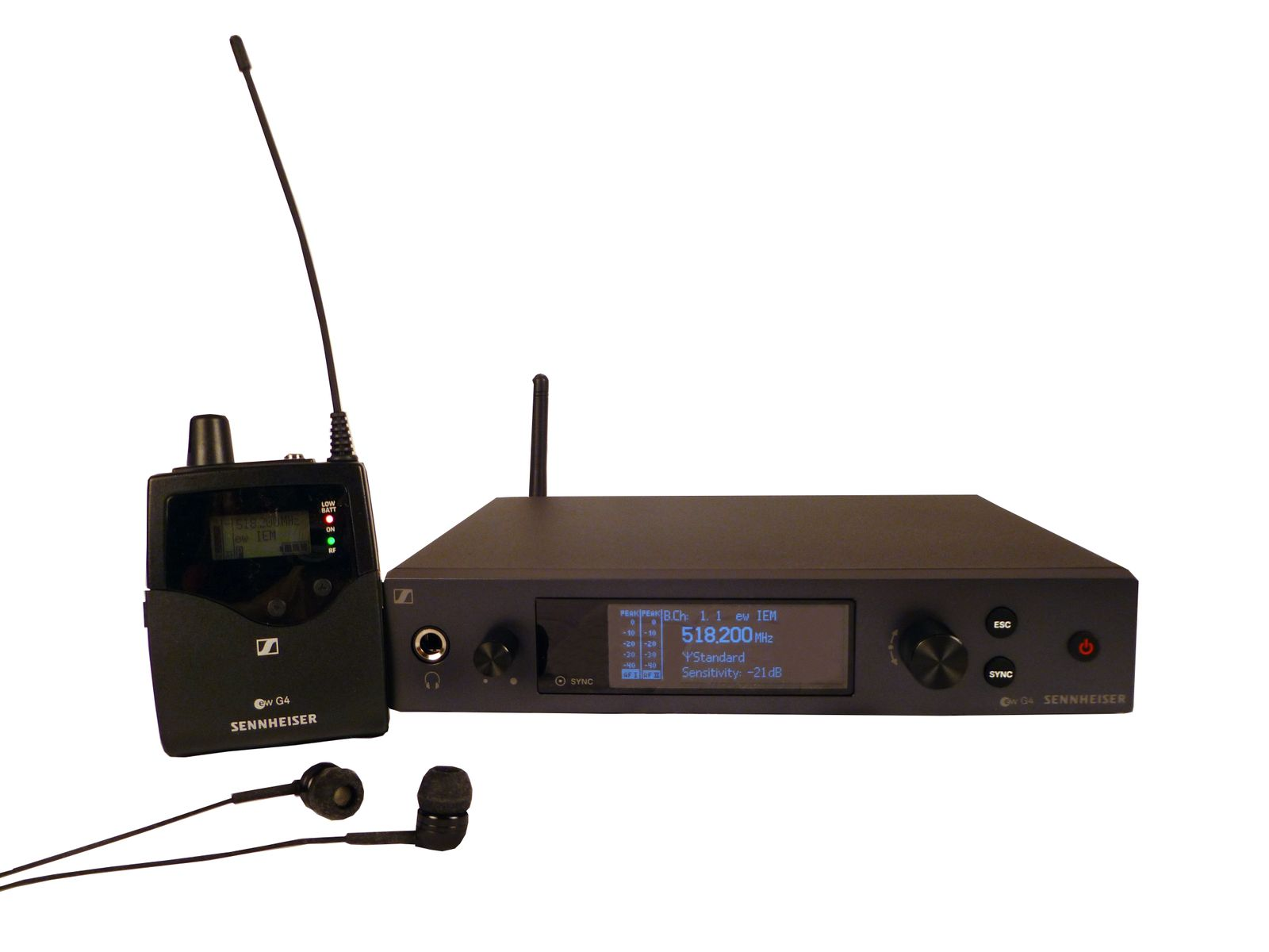 Sennheiser EW IEMG4-A System at Hollywood Sound Systems