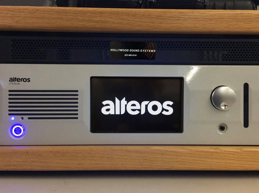 The Alteros GTX3224F Fiber Control Unit available for demo at Hollywood Sound Systems.