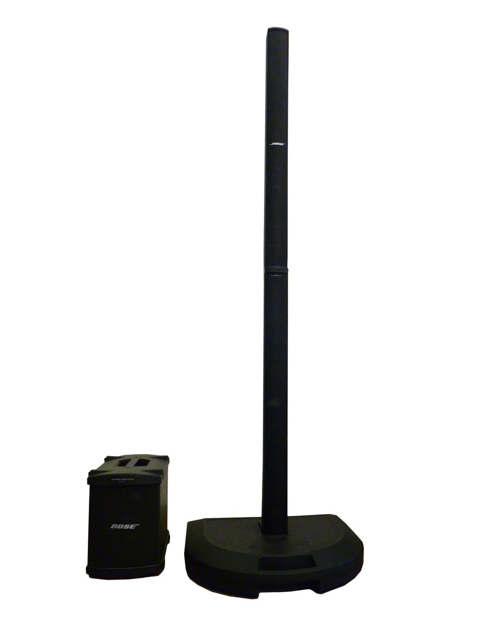 The Bose L1 Model 1 Single Bass PA System is available at Hollywood Sound Systems.