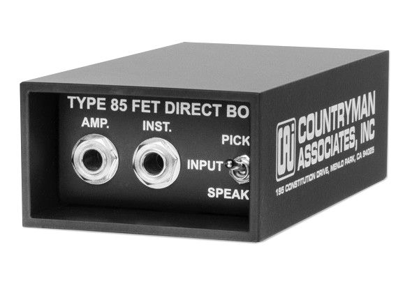 Countryman DT85 Direct Box at Hollywood Sound Systems.