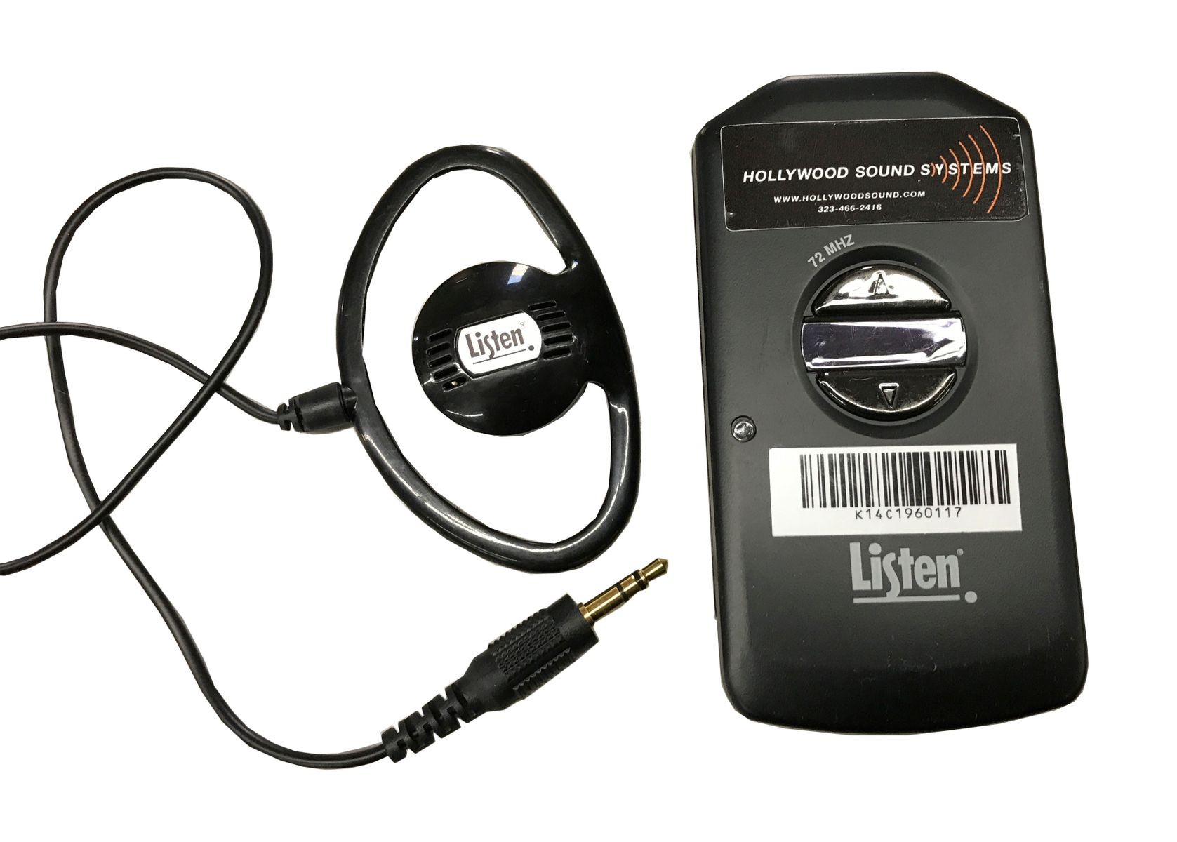 Listen Technologies LR-4200 DSP RF Receiver is at Hollywood Sound Systems.