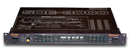 Roland SDE-3000 Digital Delay is at Hollywood Sound Systems