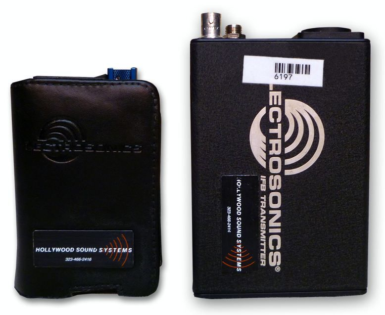 Lectrosonics T1/R1A Wireless IFB System