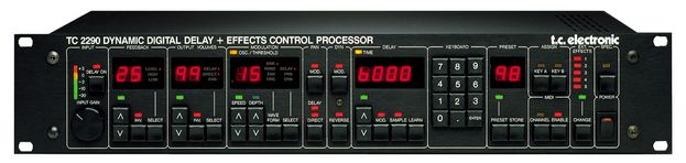 The TC Electronics TC 2290 Dynamic Digital Delay is at Hollywood Sound Systems.