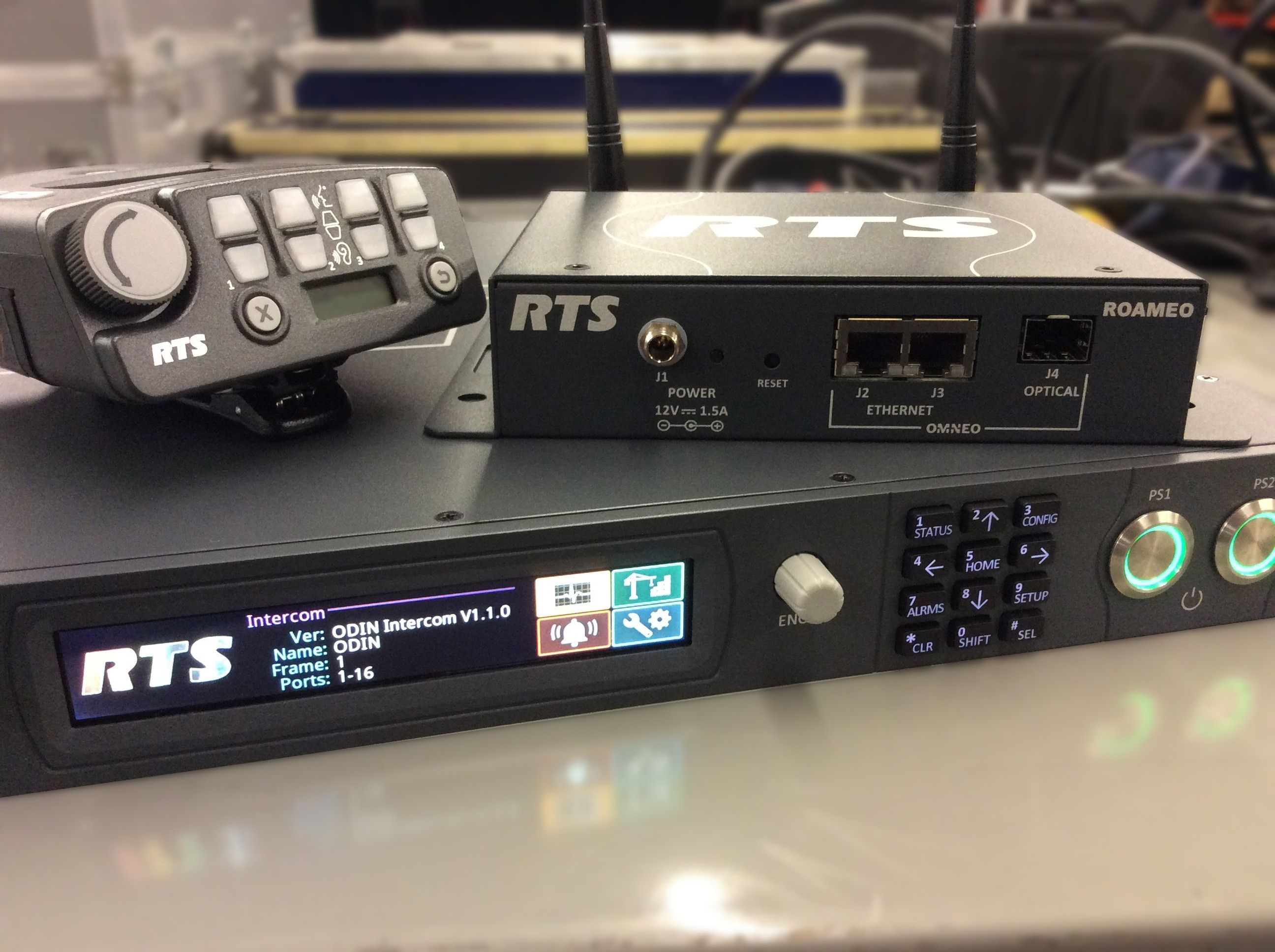 RTS ROAMEO Intercom System is at Hollywood Sound Systems
