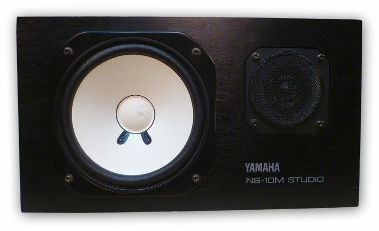 The Yamaha NS-10M Studio Monitor Speaker is available at Hollywood Sound Systems.