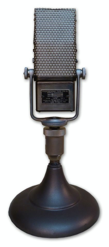 RCA PHOTOPHONE TYPE PB-31 RIBBON MICROPHONE at Hollywood Sound Systems