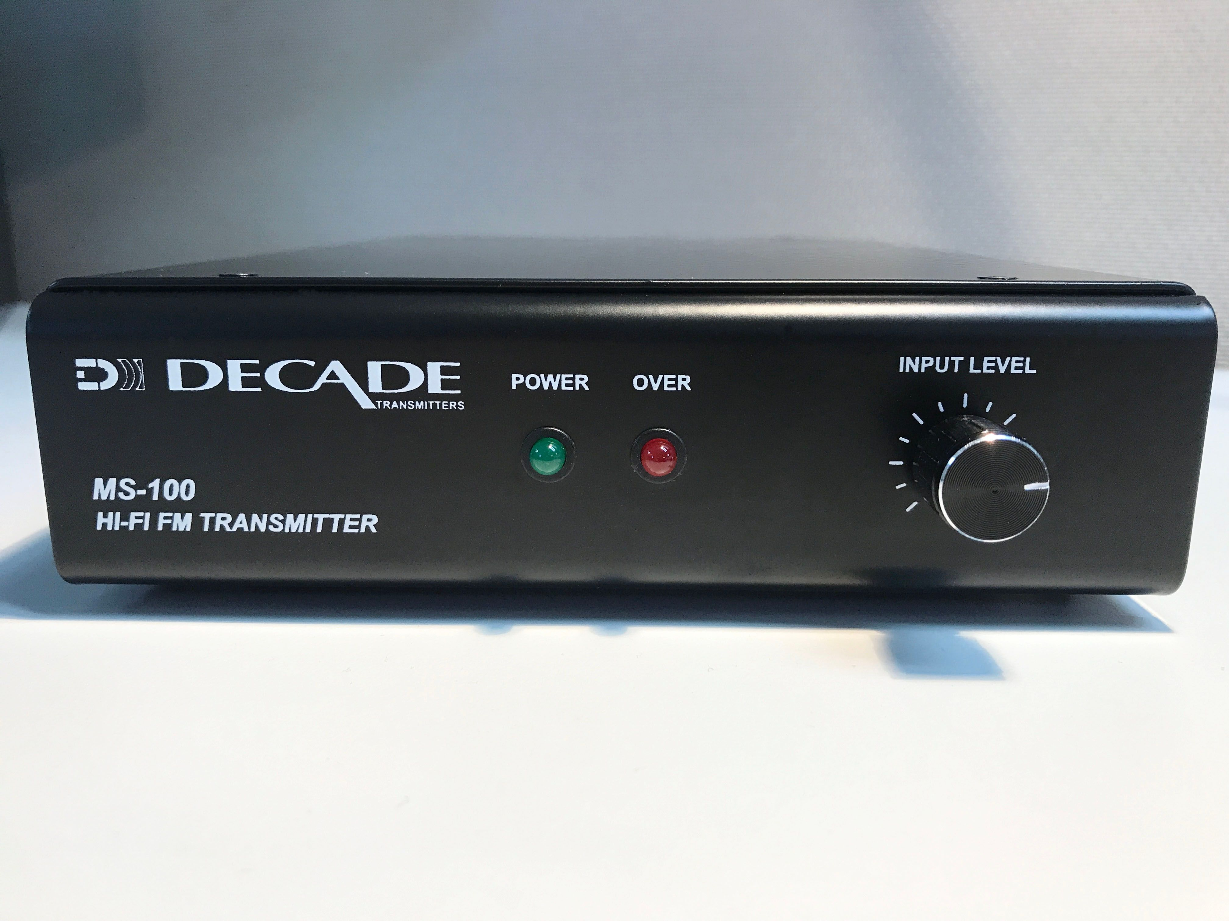 Decade MS-100 FM Transmitter is at Hollywood Sound Systems