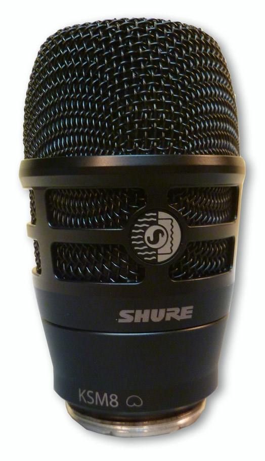 The Shure RPW170 KSM8 Wireless Microphone Capsule is at Hollywood Sound Systems.