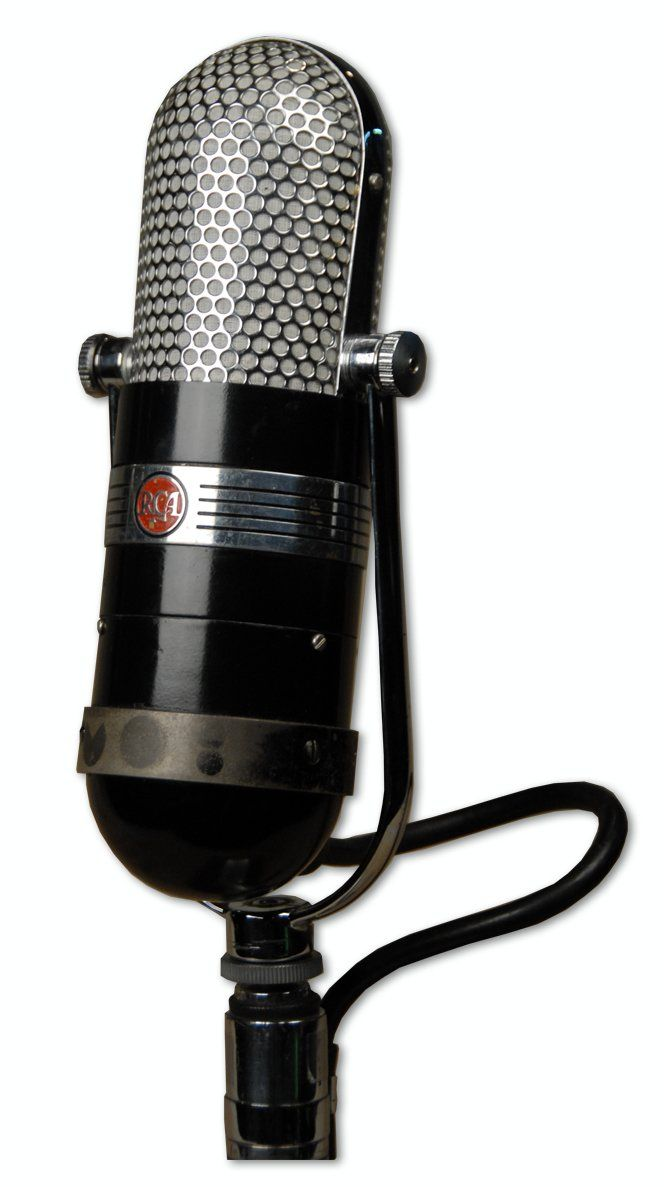 The RCA 77-C1 Multi-Pattern Ribbon Microphone at Hollywood Sound Systems