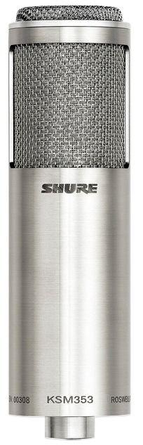 Shure KSM353/ED Ribbon Microphone at Hollywood Sound Systems