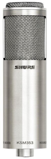 Shure KSM353/ED Ribbon Microphone at Hollywood Sound Systems