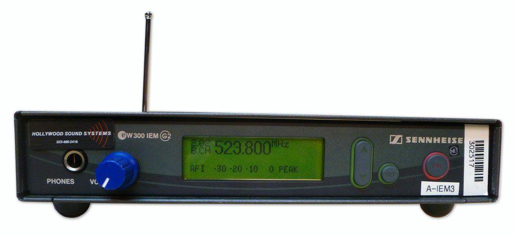 Sennheiser EW300 Transmitter at Hollywood Sound Systems