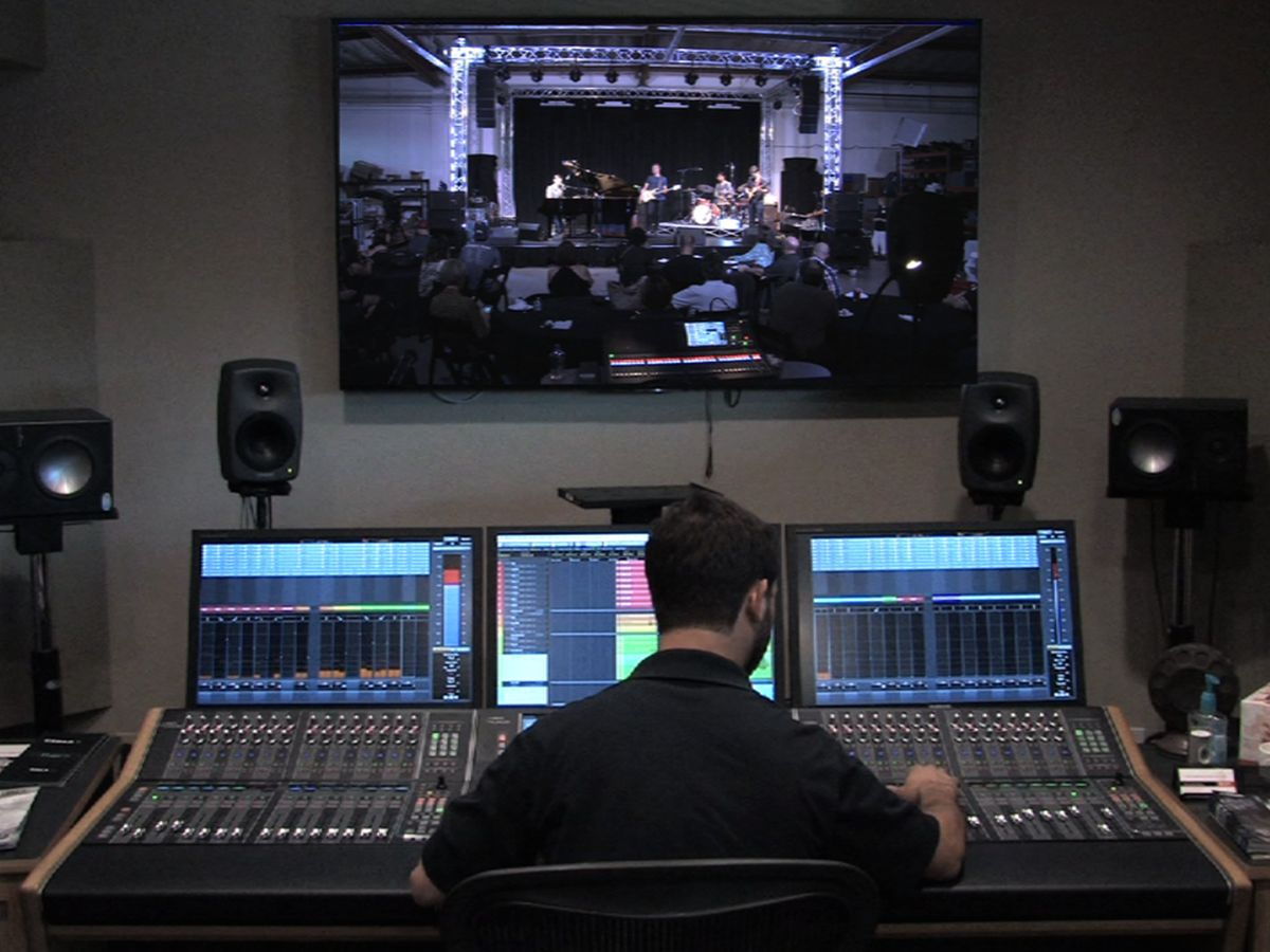 Yamaha Nuage System Demo at Hollywood Sound Systems