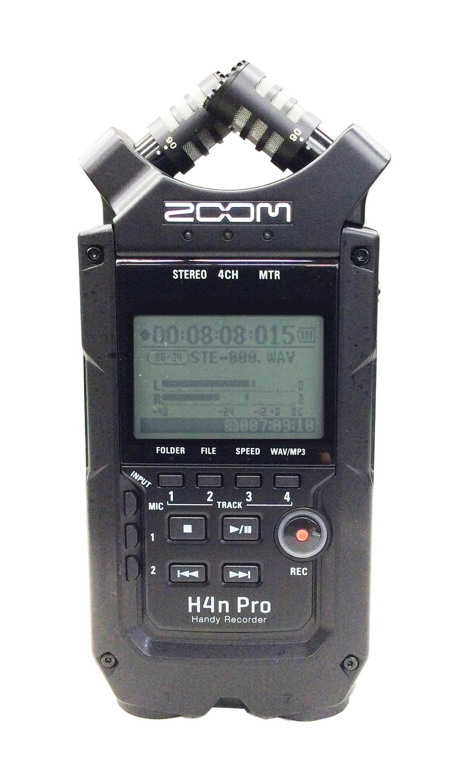 Zoom H4n Pro  Handy Recorder available at Hollywood Sound Systems.
