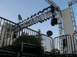 8-10 Speaker Hang at the Hillcrest show.JPG